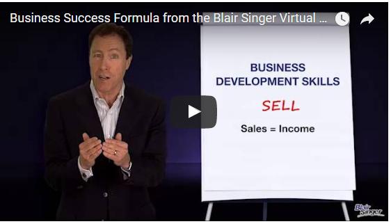 Blair Singer Intro to Business Success Formula